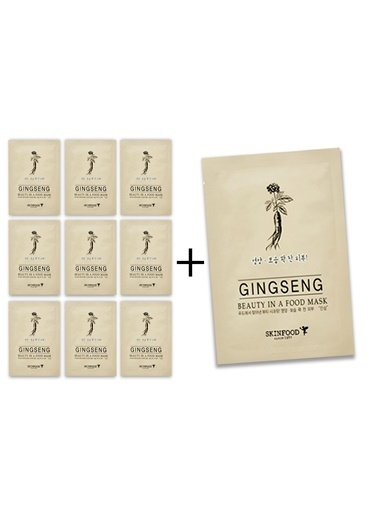 Skinfood Ginseng 10 'lu Avantaj Paketi Renksiz